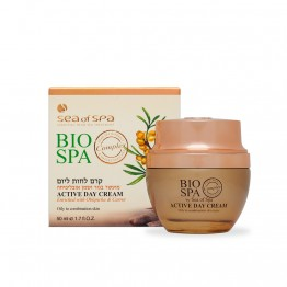 Active Day Cream Enriched with Oblepicha & Carrot, oily to combination skin, BIO SPA, 50ml
