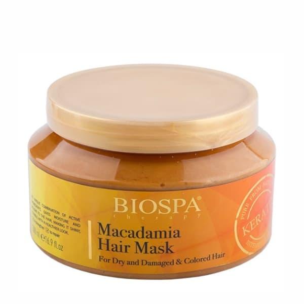 Masca de Par Intensiva cu Keratina si Macadamia, Bio Spa, Sea of Spa, 500 ml