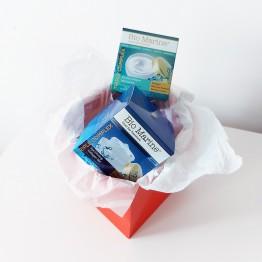 Gift set - Bio Marine - Collagen Moisturizing Day Cream, for normal and dry skin 50ml. + Collagen Eye Firming Gel, for all skin types 50ml.