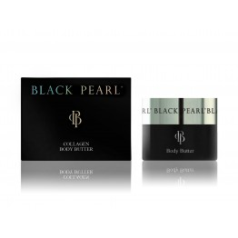 Unt de Corp cu Colagen, Black Pearl, 200ml