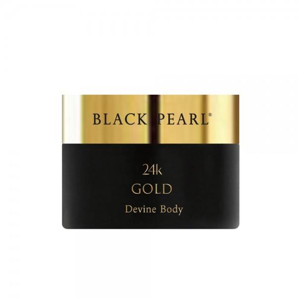 Unt de Corp cu Aur 24K - Devine, Black Pearl, 200ml
