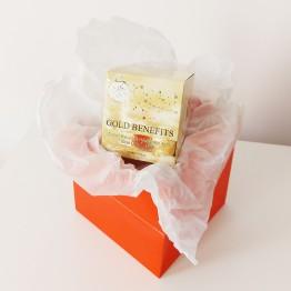Cadou   – Gold Benefits - Masca cu Efect de Lifting cu Aur 24K March 8 Gift - Gold Benefits - 24K Gold Lifting Mask