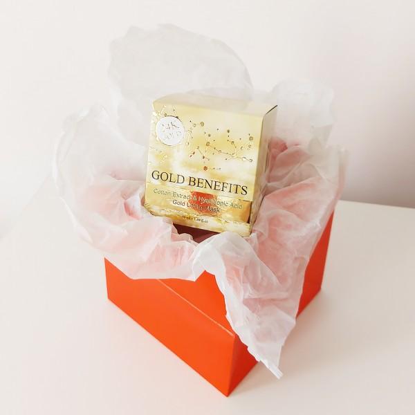 Cadou – Gold Benefits - Masca cu Efect de Lifting cu Aur 24K