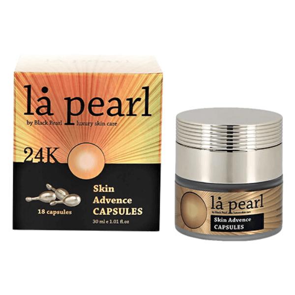 Capsule cu Ser pentru Ten, Skin Advence 24K, La Pearl by Black Pearl, 30 ml
