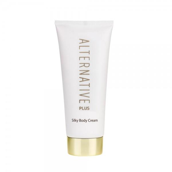 ALTERNATIVE+, Crema Catifelata pentru Corp, pentru toate tipurile de piele cu protectie intensiva, 200ml