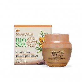 Delicate Eye Cream Enriched with Oblepicha & Carrot, all skin types, BIO SPA, 50ml