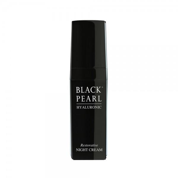 Crema de Noapte cu Acid Hialuronic, Black Pearl, 30ml