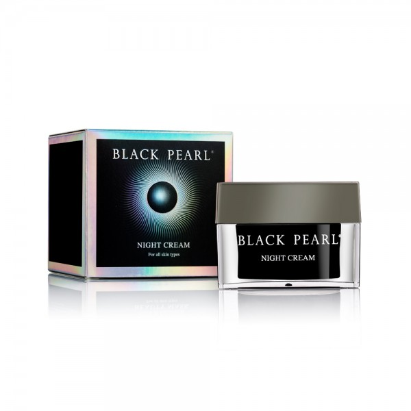 Crema de Noapte, Black Pearl, 50ml