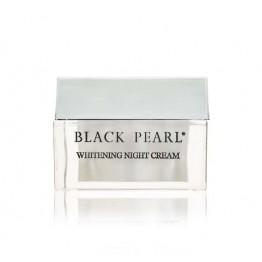Whitening Night Cream Perla Bianca, Black Pearl, 50ml