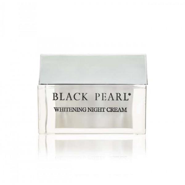 Crema de Noapte cu Efect de Albire Perla Bianca, Black Pearl, 50ml