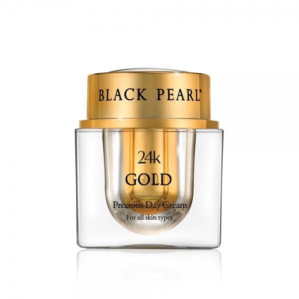 Crema de Zi Precious cu Aur 24K, Black Pearl, 50ml