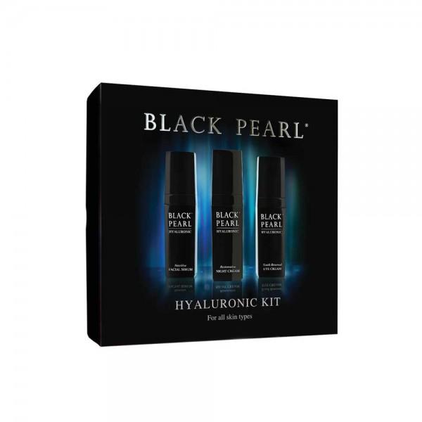 Kit cu Acid Hialuronic, Black Pearl